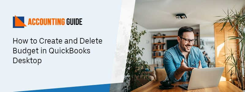 Create and Delete Budget in QB
