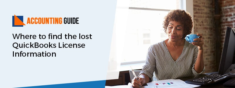 Where to Find the Lost QuickBooks License Information