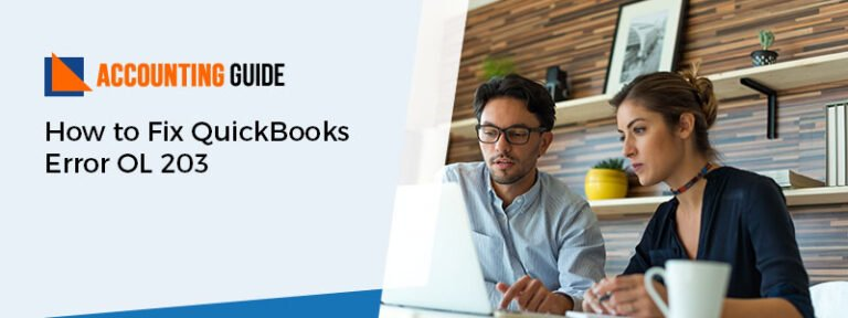 How to Fix QuickBooks Error OL 203