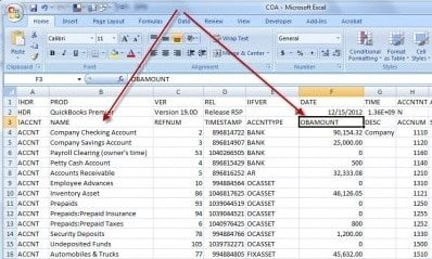 Step 2 Track the transaction responsible for QuickBooks Balance sheet out of balance