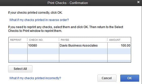 How to Reprint Checks in QuickBooks?